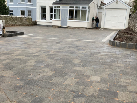 Plymouth Home Improvements Driveway Install