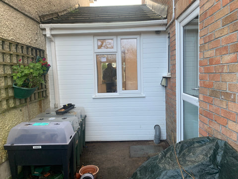 Plymouth Home Improvements Garage conversion Plympton Back