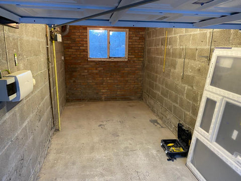 Plymouth Home Improvements Garage Installation Plympton Before