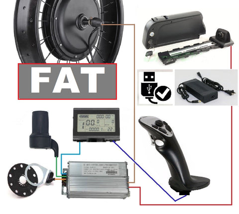 Motorisation 250-1000W model  FAT