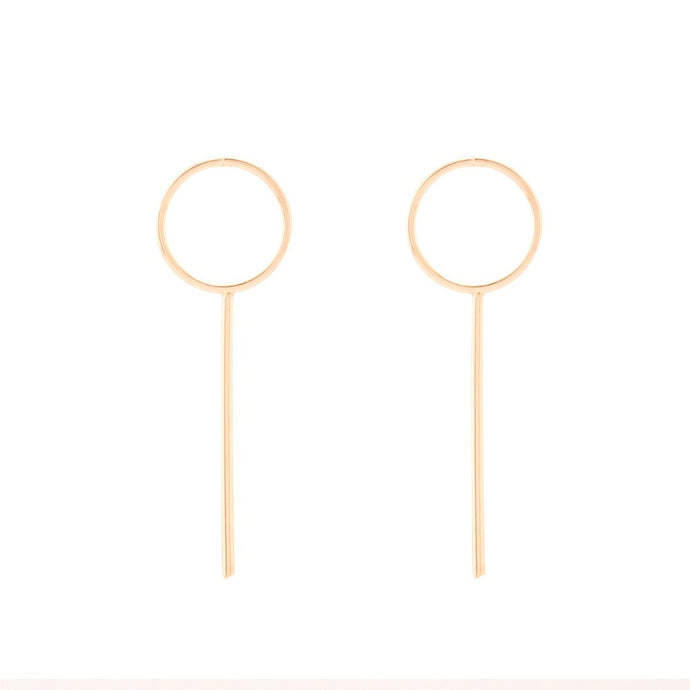SIGNS EARRINGS - GOLD