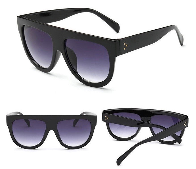 DONT LOOK AT ME SUNGLASSES - BLACK