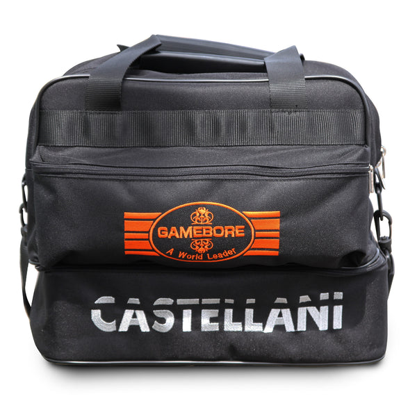 Castellani for Gamebore Kit Bag - Black & Orange