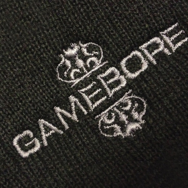 Gamebore Black Woollen Hat - Silver