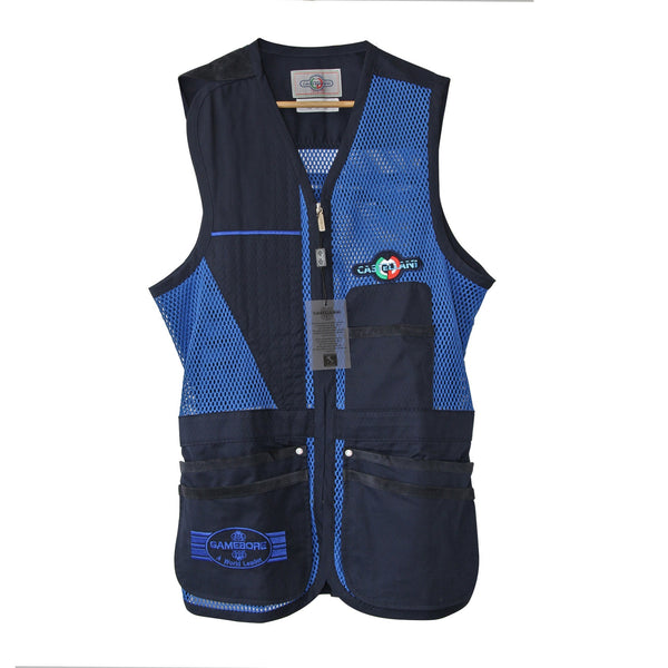 Castellani for Gamebore Shooting Vest - Blue