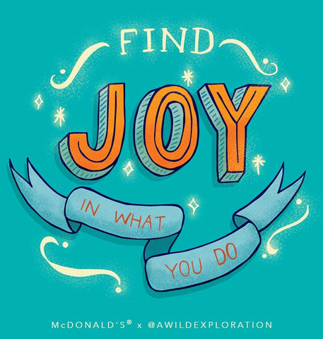 Find Joy in What You Do
