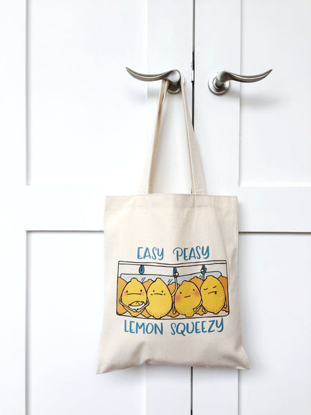 Lemon Squeezy Tote Bag - A Wild Exploration