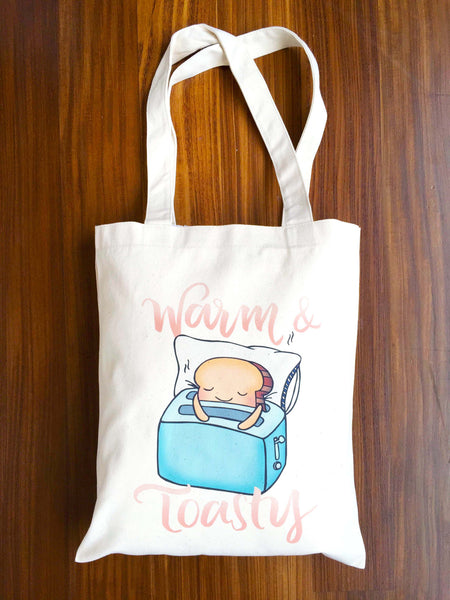 Warm and Toasty Tote Bag - A Wild Exploration