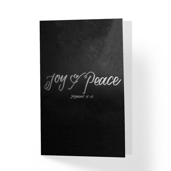 Joy and Peace Greeting Card - A Wild Exploration