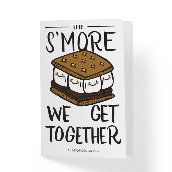 S'more Greeting Card - A Wild Exploration