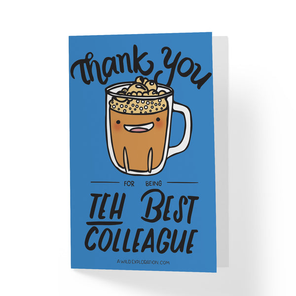 Teh Best Greeting Card - A Wild Exploration
