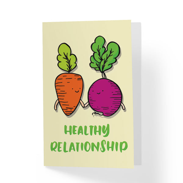Healthy Relationship Greeting Card - A Wild Exploration