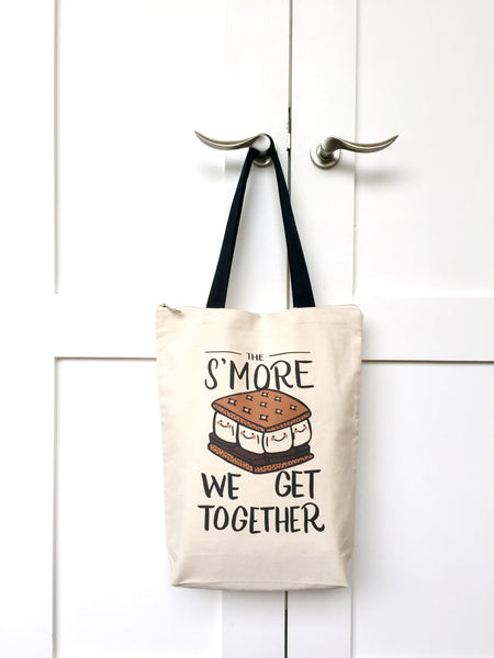 Smore Zip Tote Bag - A Wild Exploration