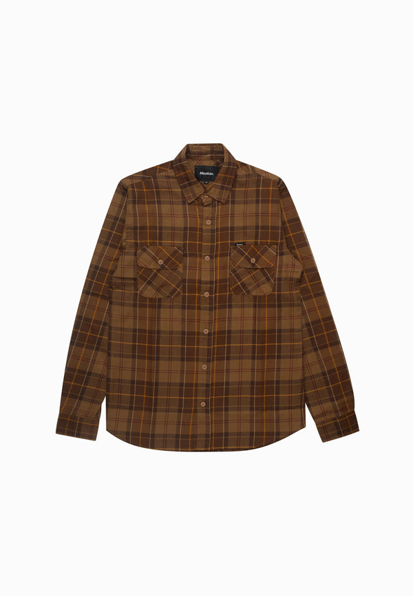GARLAN BROWN FLANNEL