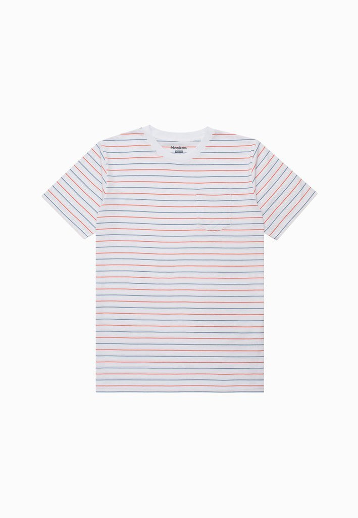 TURNER WHITE STRIPES TEE