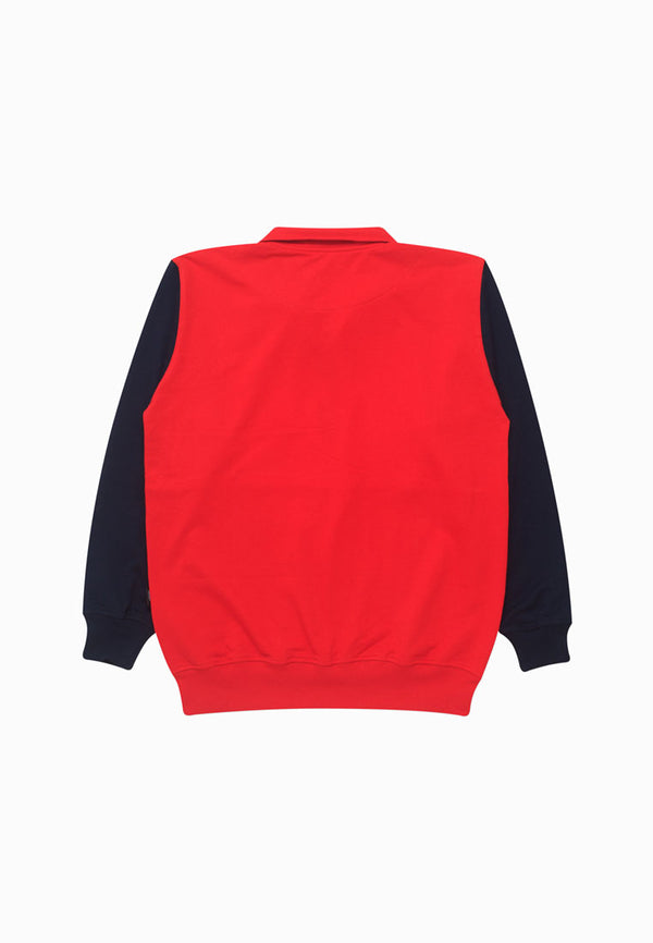 DELFT RED SWEATER