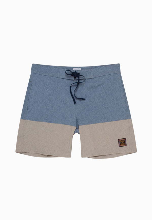 BEACH BOY Blue-Cream