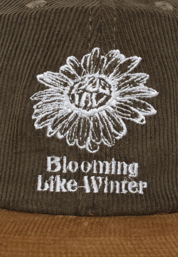 BLOOMING OLIVE HAT
