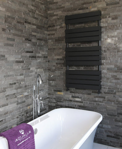 Source Matt black radiator with Aromawell