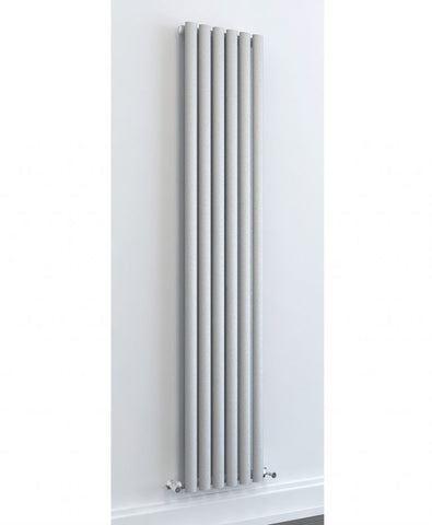 Porto light grey designer radiator 1800 x 460