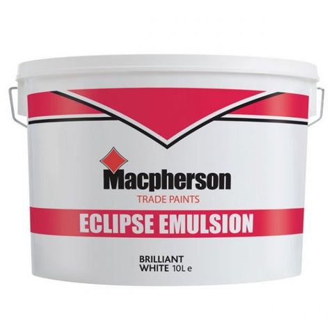 Macpherson trade paint eclipse emulsion brilliant white 10L