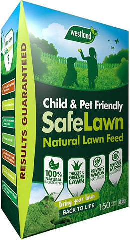Westland safe lawn child and pet friendly natural lawn feed 150m2