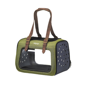 Portico Mixed-fabric Pet Transporter