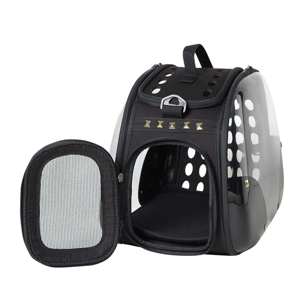 Hard Rock Transparent Hardcase Carrier - House of Pets Delight