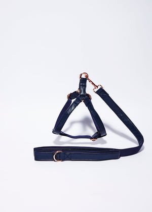 'Midnight Blue' Step In Harness Set