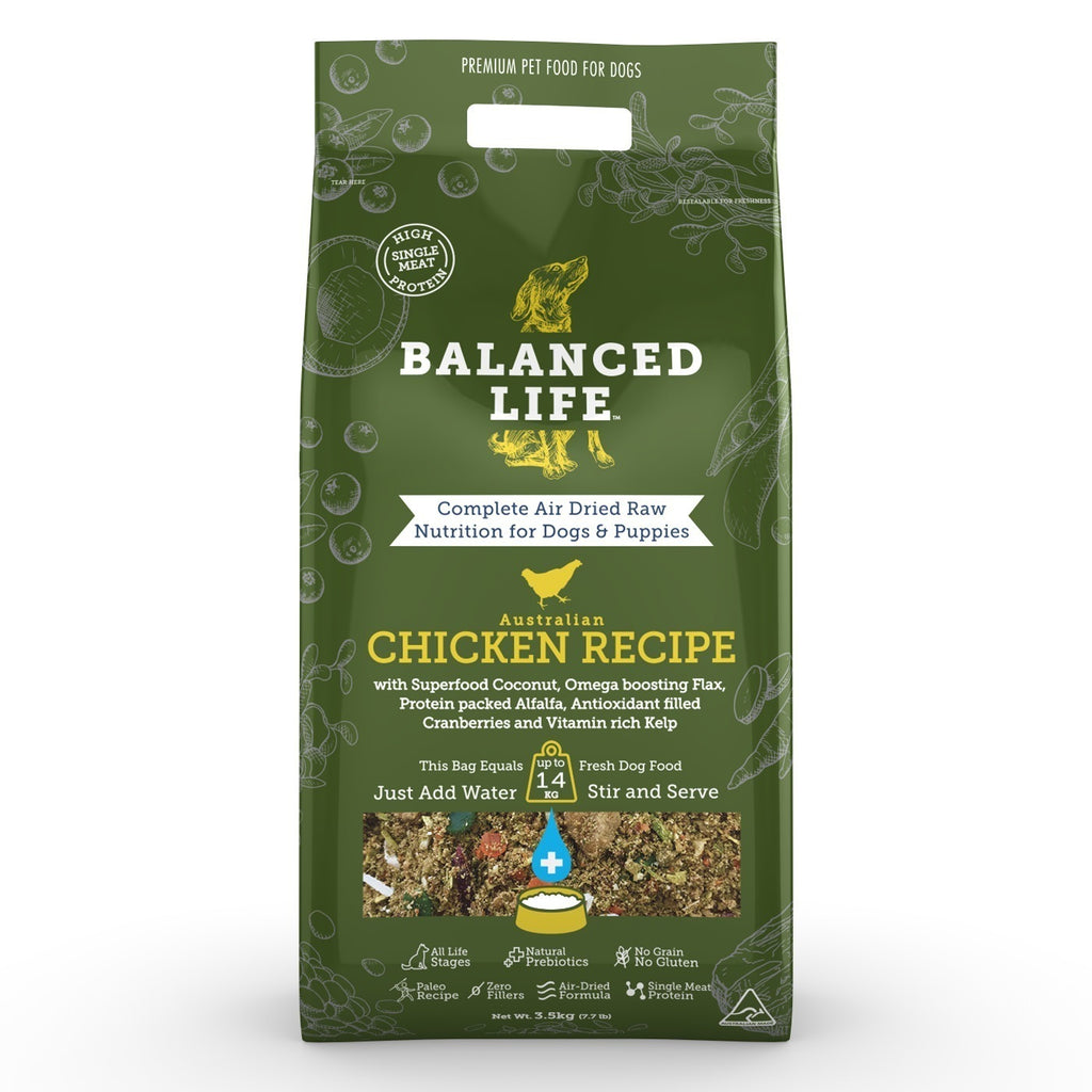 Balanced Life Chicken for Dogs 3.5Kg