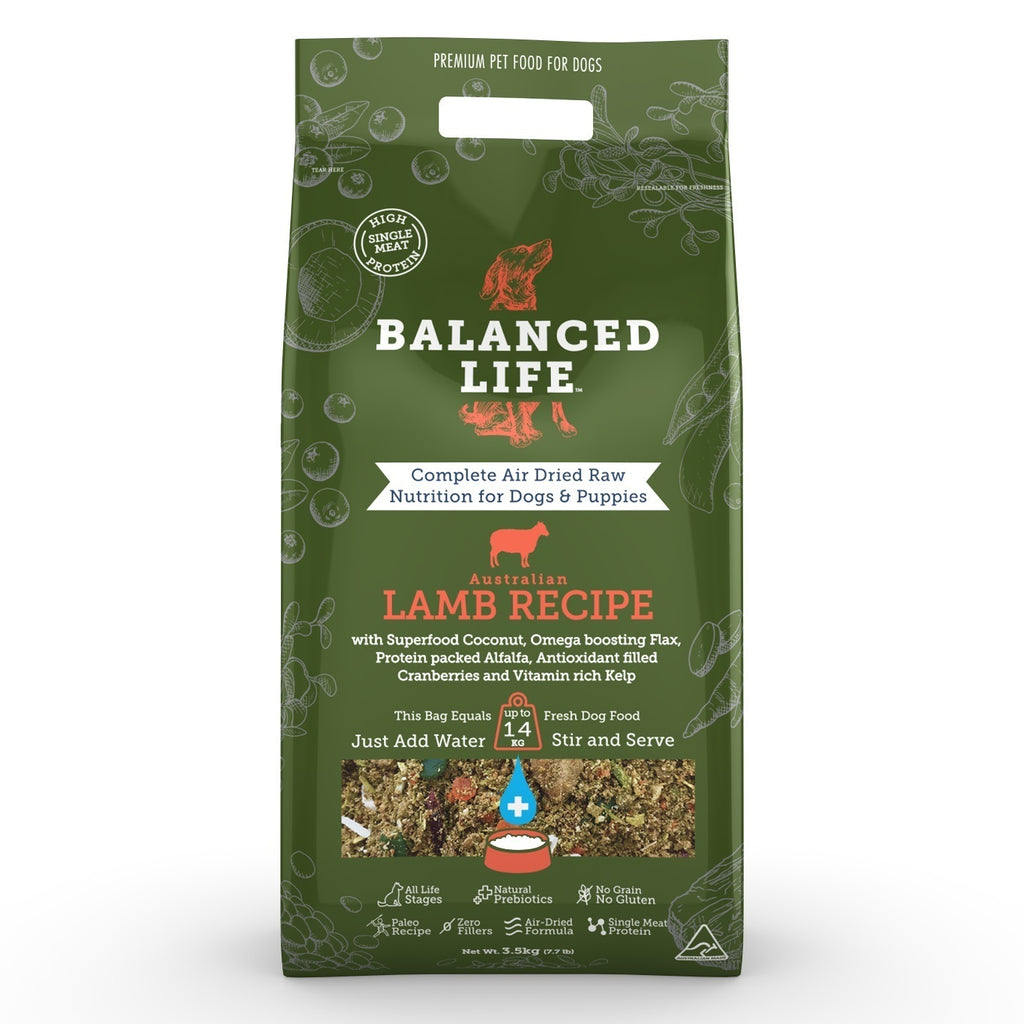 Balanced Life Lamb For Dogs 3.5Kg