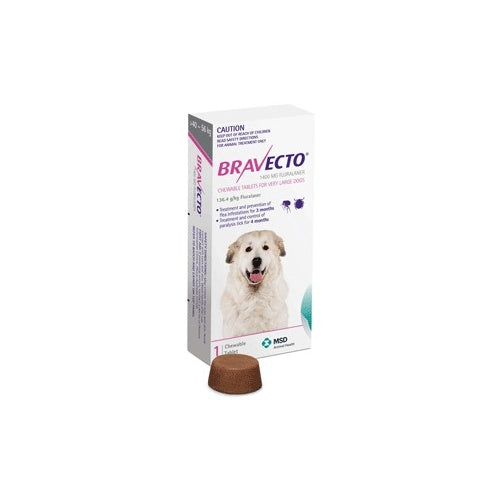 Bravecto Chew for Extra Large Dogs 40 - 56 kg