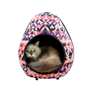 Gourd Pet House & Enclosed Bed