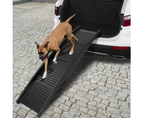 Portable Folding Pet Ramp for Cars - House of Pets Delight