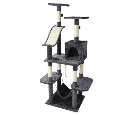 Cat Tree 171cm Scratching Post Tower