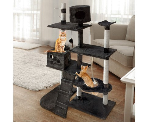 170cm Cat Scratching Post with Feed Tray