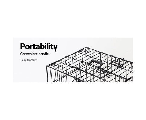 Foldable Pet Crate (Various Sizes)