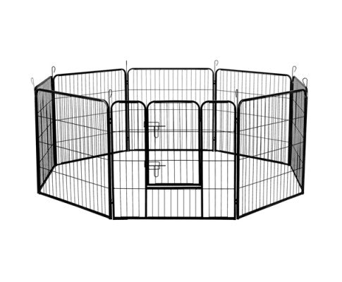 8 Panels Pet Dog Exercise Playpen 80CM - House of Pets Delight