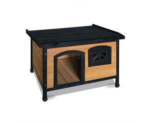Dog Kennel with Elevated Floor - House of Pets Delight