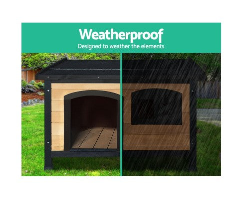 Medium Wooden Pet Kennel
