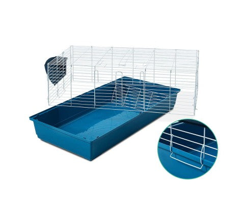 100cm Bunny Home Rabbit Guinea Pig Cage Hutch - House of Pets Delight