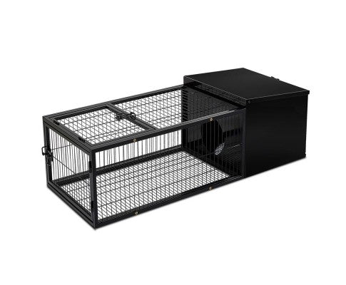Medium Hutch with Run - House of Pets Delight