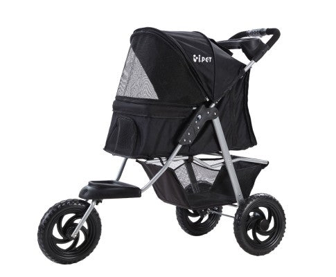 Foldable Large Pet Stroller & Carrier