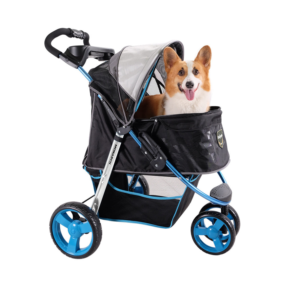 Monarch Premium Pet Jogger - Blue F1 Moto