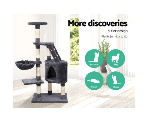 Multiplay Cat Tree 120cm