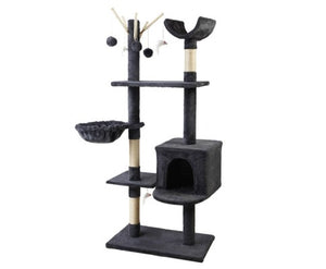 Cat Tree Scratching Post Condo House - House of Pets Delight