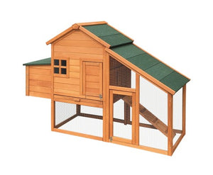 wood chicken hutch