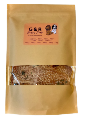 Premium Natural Chicken Breast With Parsley Dog Treats