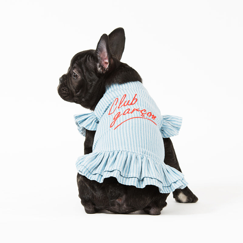 Club Garcon Light Denim Dog Dress