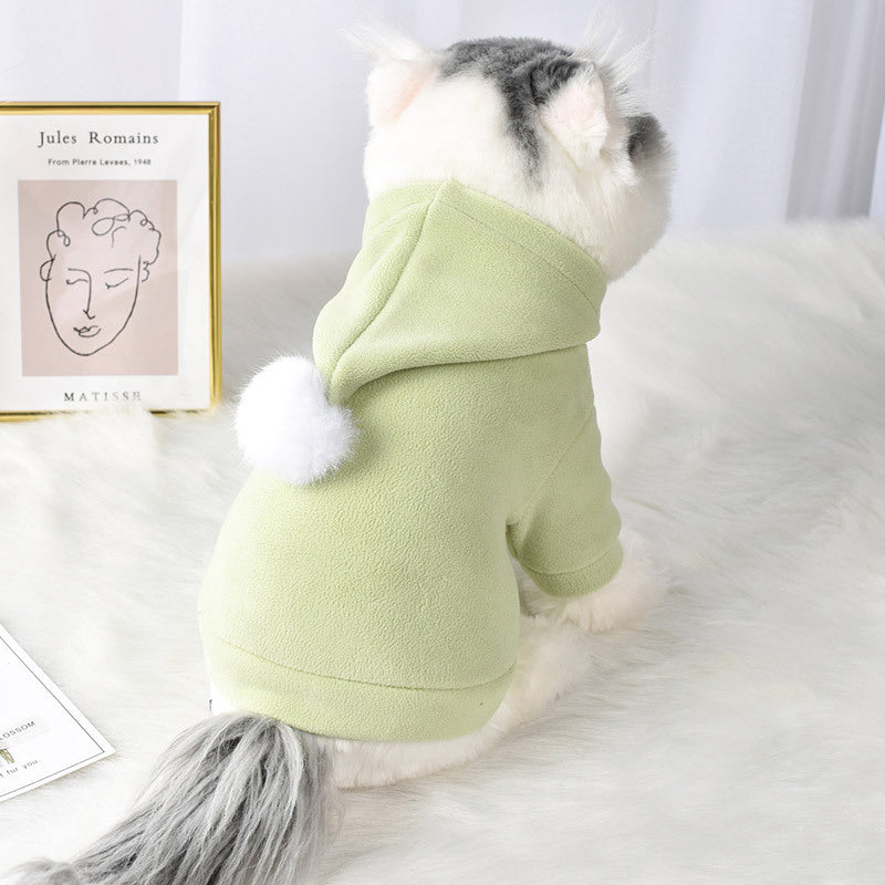 Pom Pom Pet Dog Cat Pastel Hoodie